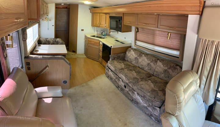 Large RV for the unpretentious.