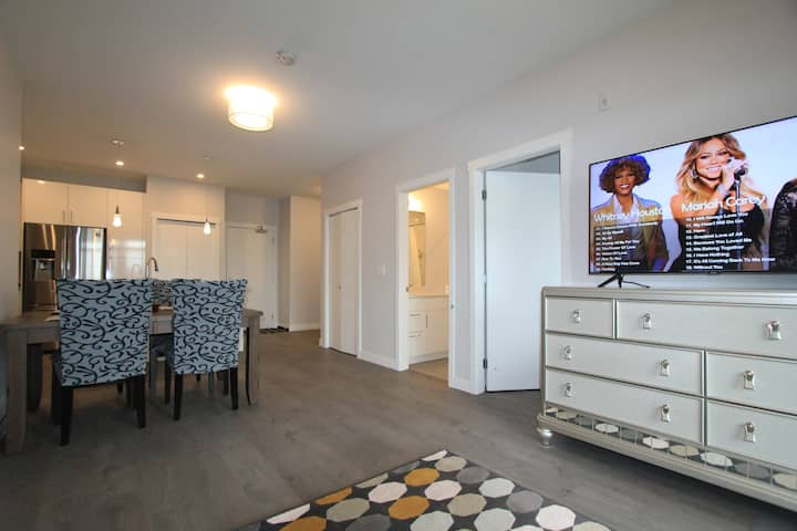 Brand new two bedrooms two bathrooms apartment