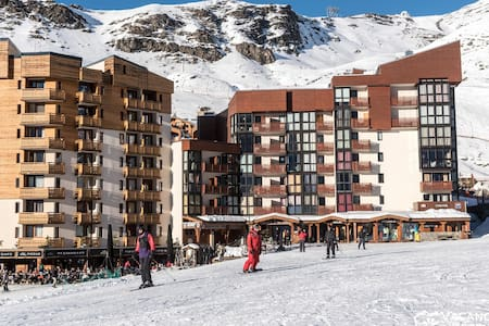 Val Thorens, Olympiades 715, ski-in / ski-out accommodation, up to 8 people - Val Thorens