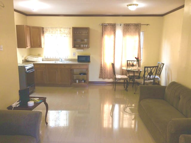 Spacious luxury 1 BR apt in new gated community. - Kingston - Adosado