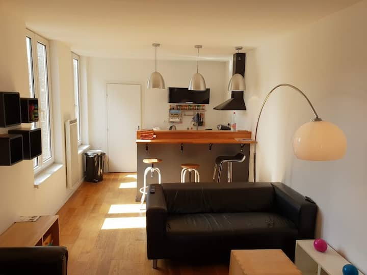 Lille old town design apartment