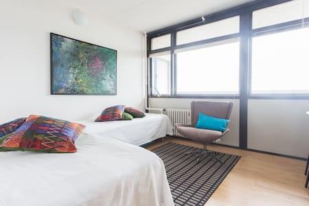 View of Copenhagen from 12th floor - Copenhagen - Apartment