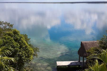 Casa Vista Laguna Bacalar Suite - Bacalar - Dom