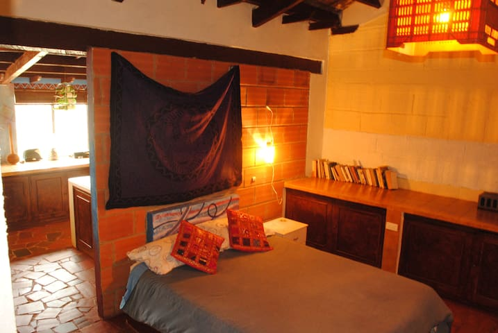 La Ruana Guatavita  Double room + private kitchen - Guatavita - Appartement