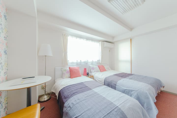 Best stay for Osaka! Cozy room Max3 +pWifi #4M6 - Nishi-ku, Ōsaka-shi - Appartement