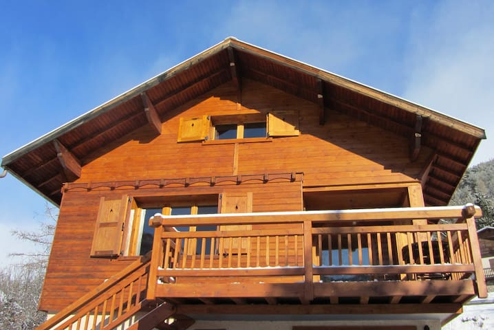 A nice chalet close to the slopes