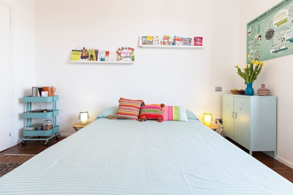 normal size double bed (160x200)