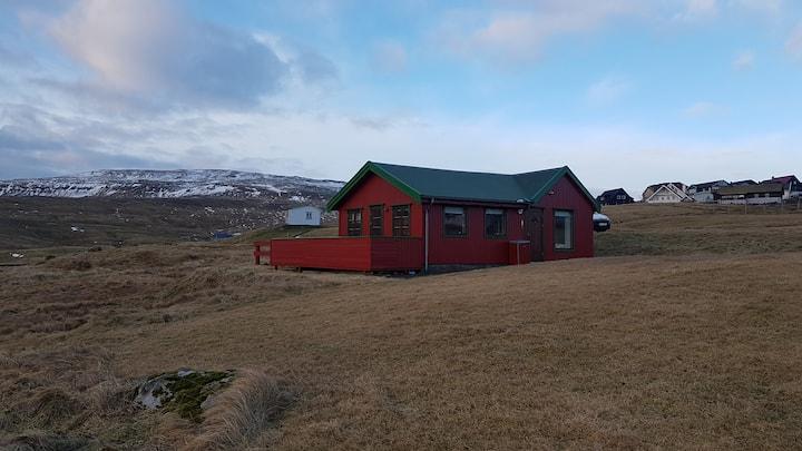 Thorshavn frit beliggende med flot natur og dyr.