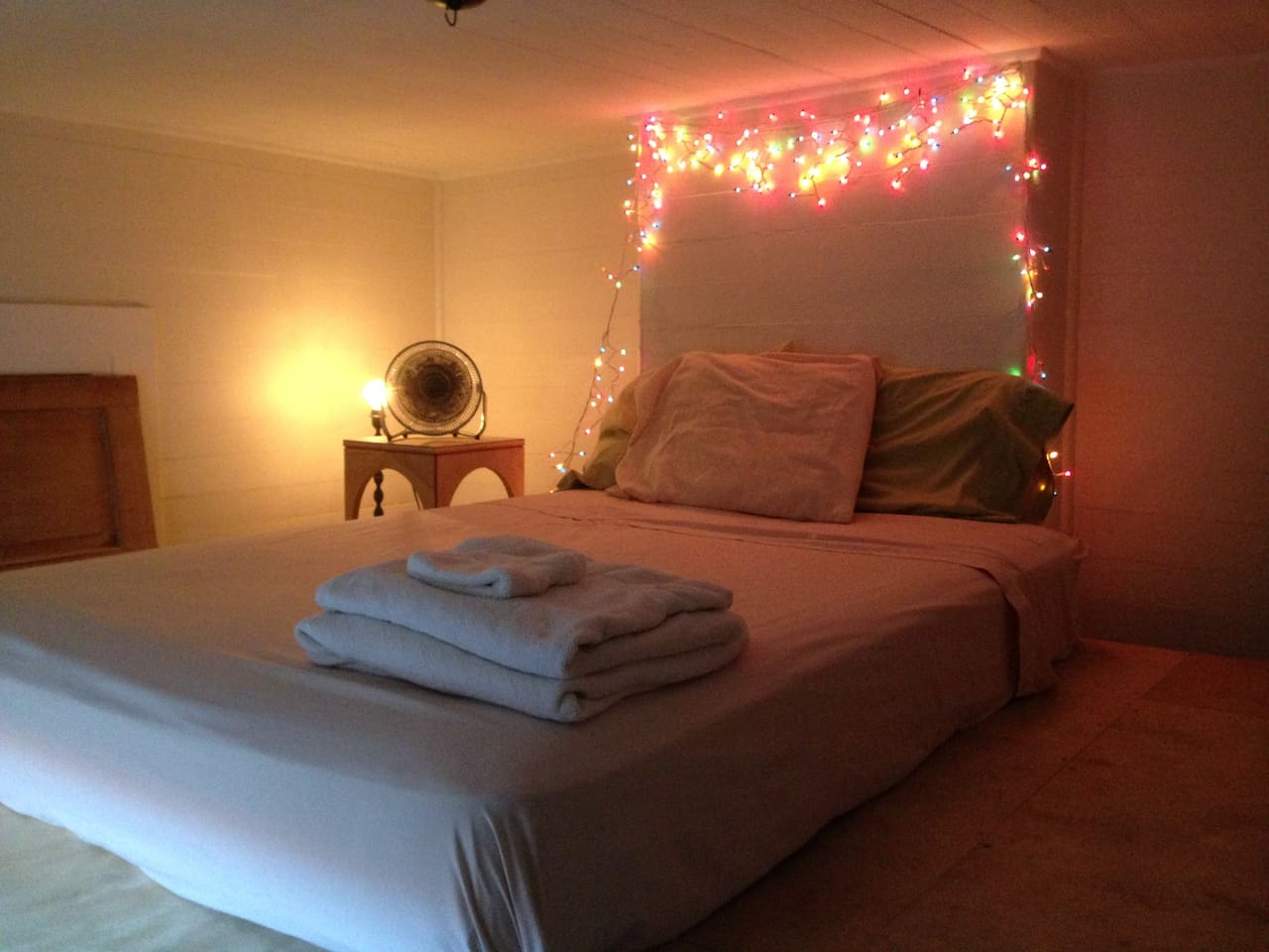 This is the coziest and coolest of our rooms!