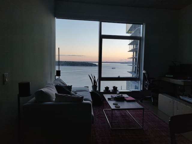 Modern highrise in Pike Place with amazing views