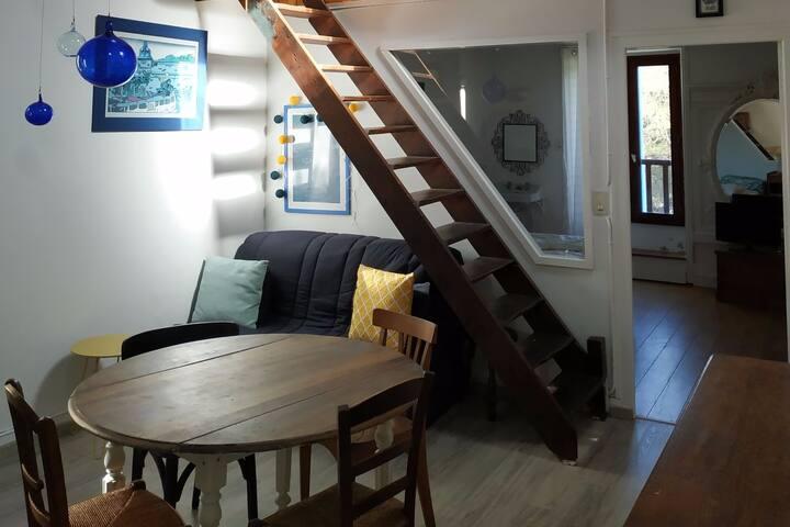 """"""" La Petite Maison"""" avec vue sur la Mer"""