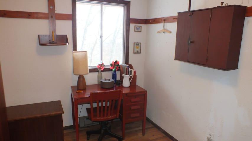 Bedroom #2 desk