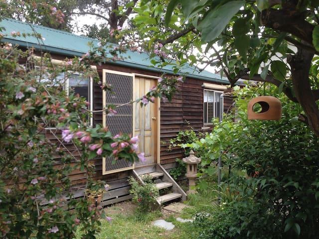 Mediterranean Garden Cottage