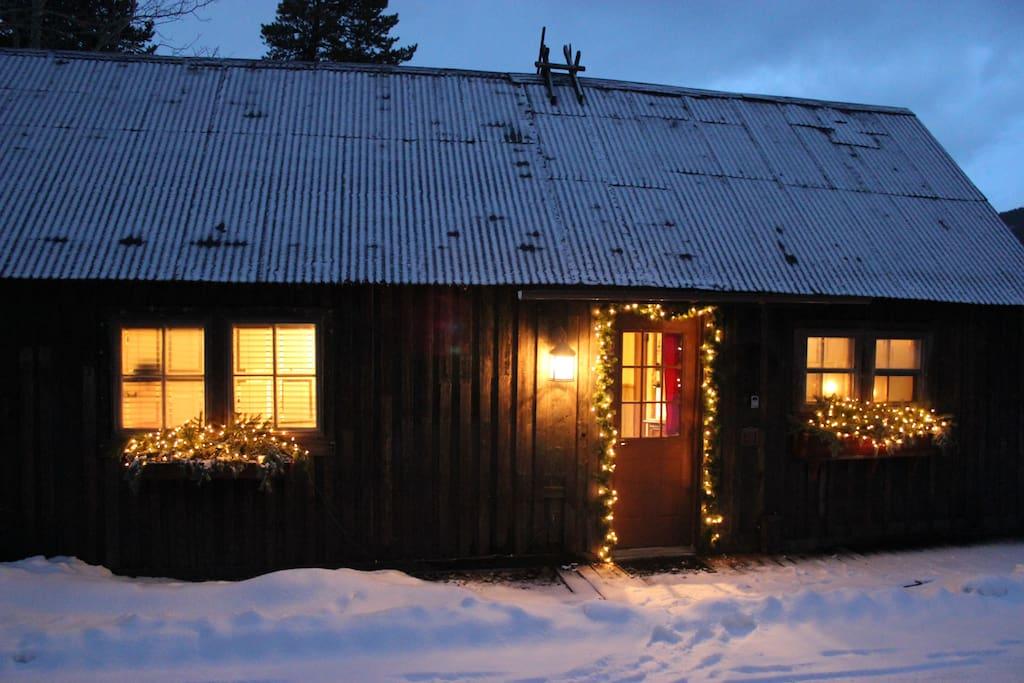 Historic jack 39 s cabin 2 blocks to main st sleeps4 for Breckenridge cottages