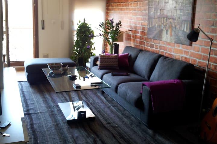 Bonito, acogedor y céntrico apartamento + parking - Zaragoza - Apartemen