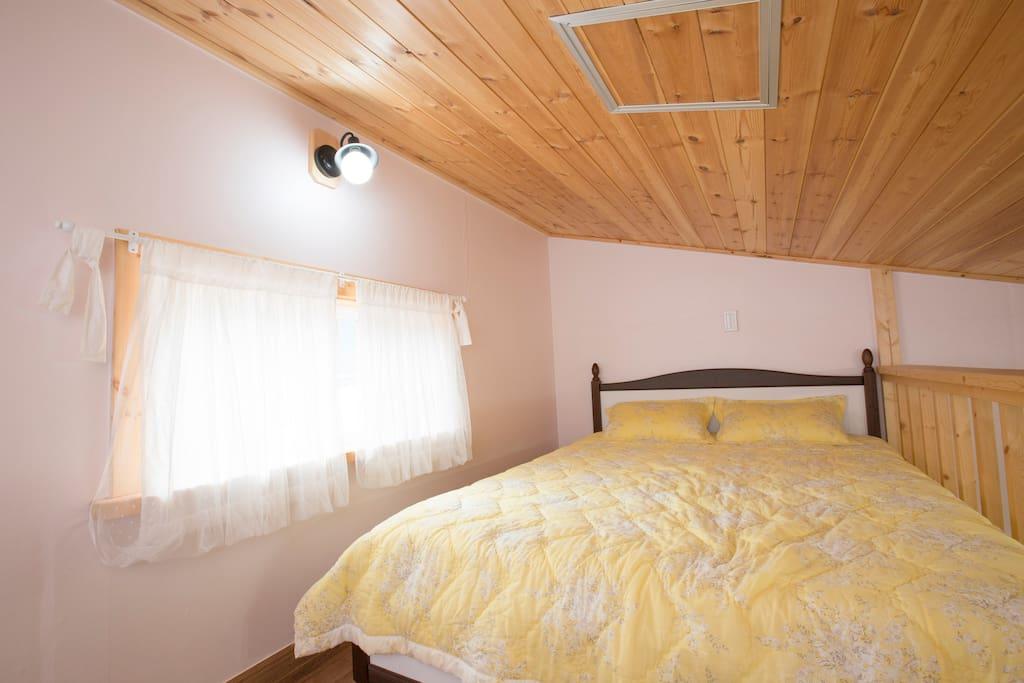 포근하고 아늑한 휴식이 가능한 침실