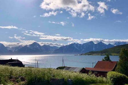 House by the sea, in the heart of North Troms.