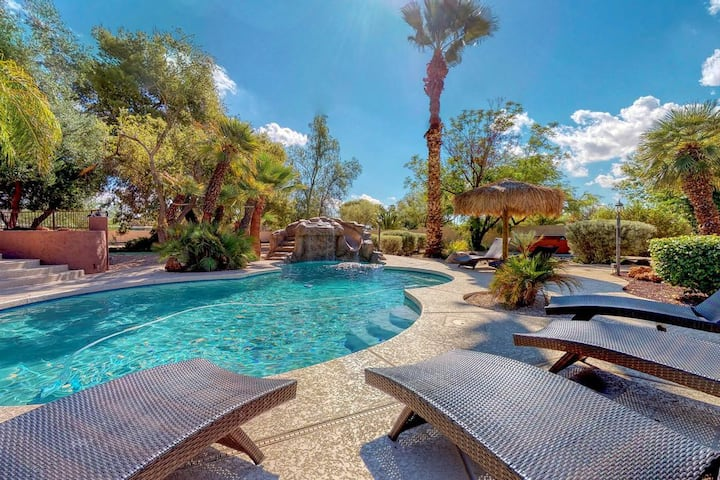 7 Bedroom, 3.5 Bathroom Paradise Valley Retreat