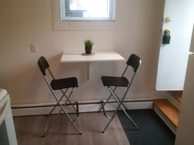 Cozy North End Halifax apartment, newly renovated.