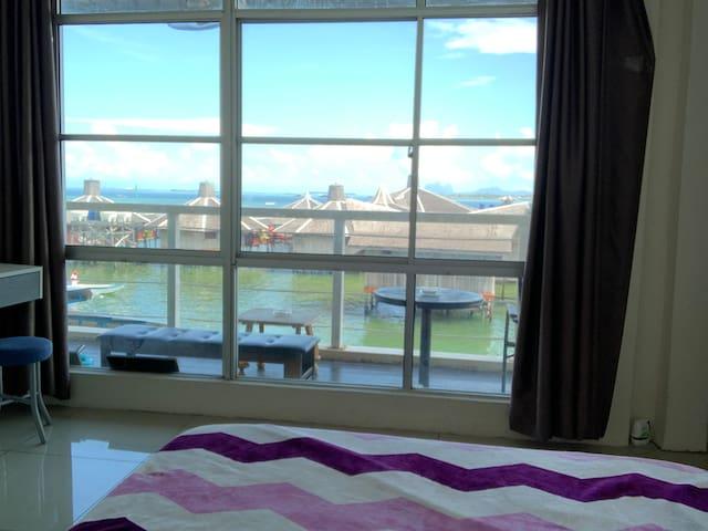 仙本那LuLu家@绝佳位置-绝美海景房-独立卫生间-楼下既是餐厅和码头