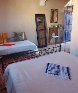 Riad Maison du Soleil - Chambre MEDINA 2 ou 3 per - Tiznit