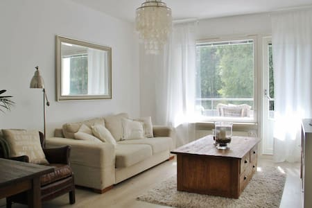 Cozy 2 br apartment near Lahti centre - Lejlighed