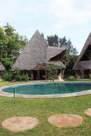 rent chalet in front of the sea in peacefull place - Malindi - Casa de campo