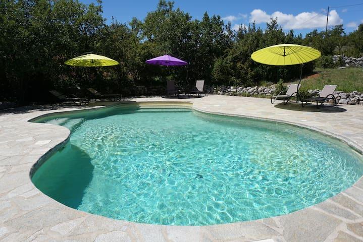 Provence gîte 8p piscine tennis  - Simiane-la-Rotonde - Dom