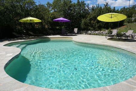 Provence gîte 8p piscine tennis  - Simiane-la-Rotonde