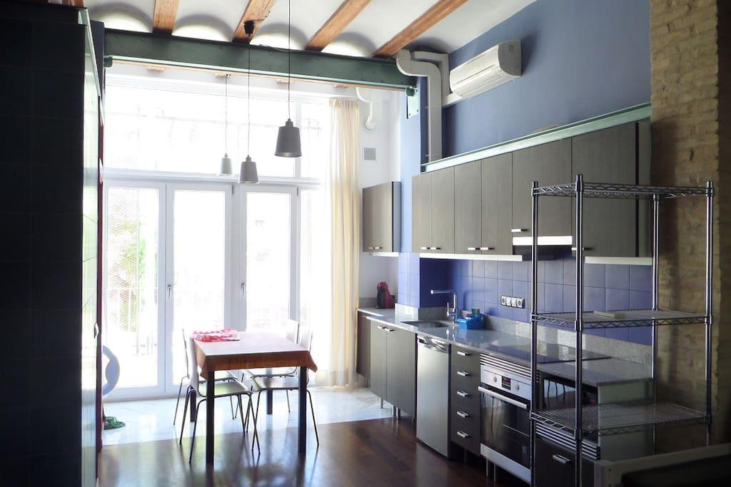 Apart loft en barrio carmen vlc lofts for rent in - Loft valencia ...