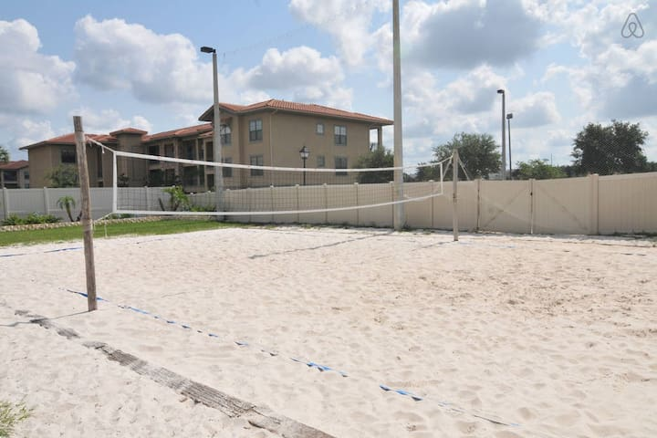 Vôlei de praia - Beach volleyball court