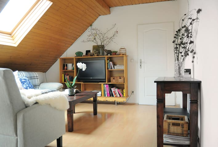 Beautiful attic room - Prag - Hus