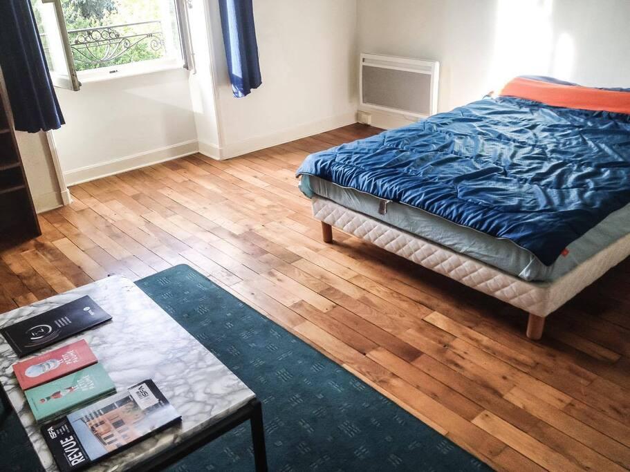Voici la chambre :)