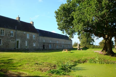 Beautiful Normandy Farmhouse (for6) - Negreville - Bed & Breakfast