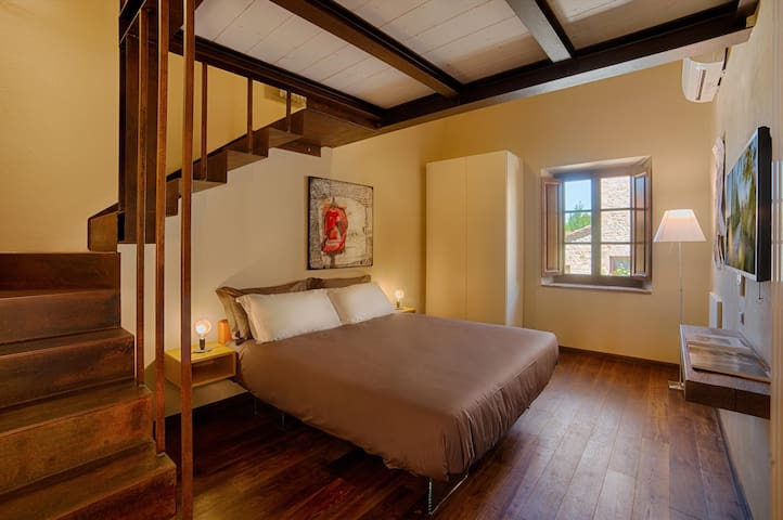 Camera Quercia in Chianti B&B Design - Vitignano - Bed & Breakfast