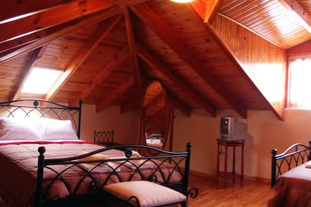 Cosy Attic apartment 60m2 Nafplio!! - Navplion - Лофт