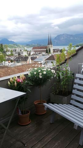 Over the rooftops of Luzern - Luzern - Daire