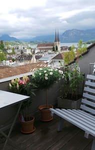 Over the rooftops of Luzern - Luzern - Huoneisto