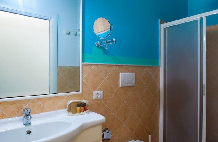 First bathroom woth shower