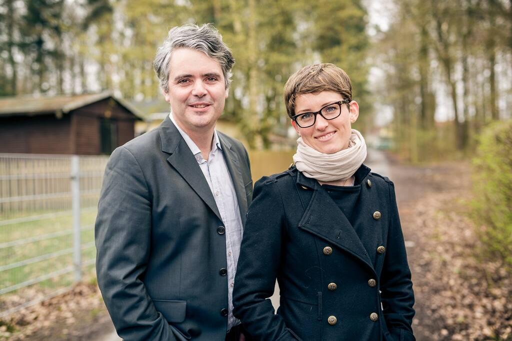 Gastgeber Helena Raupach & Peter Döllmann