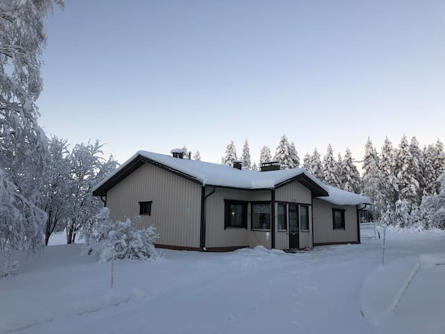 Mattila -a cozy house just above the Arctic Circle