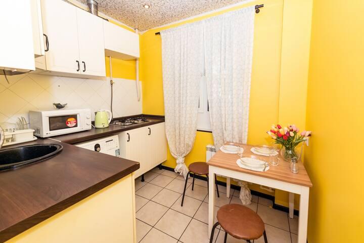 1-комнатная квартира на ул. Комарова, 8