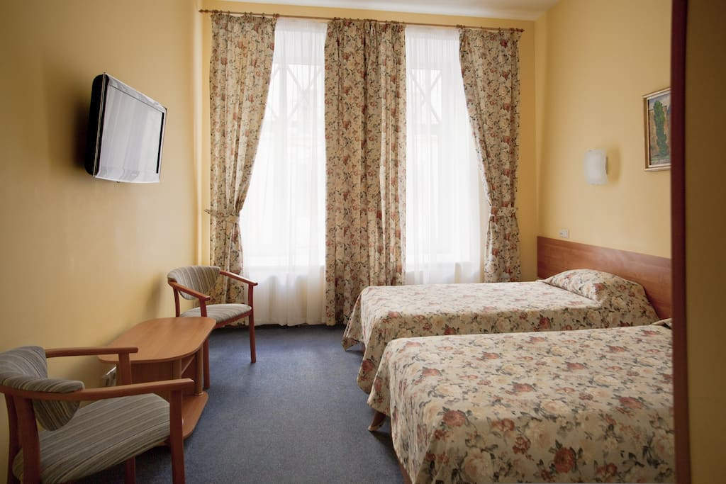 Удобнейший номер, две кровати-могут быть сдвинуты