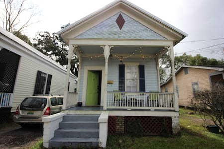 Private room in a charming shotgun house (in OGD). - Mobile - House