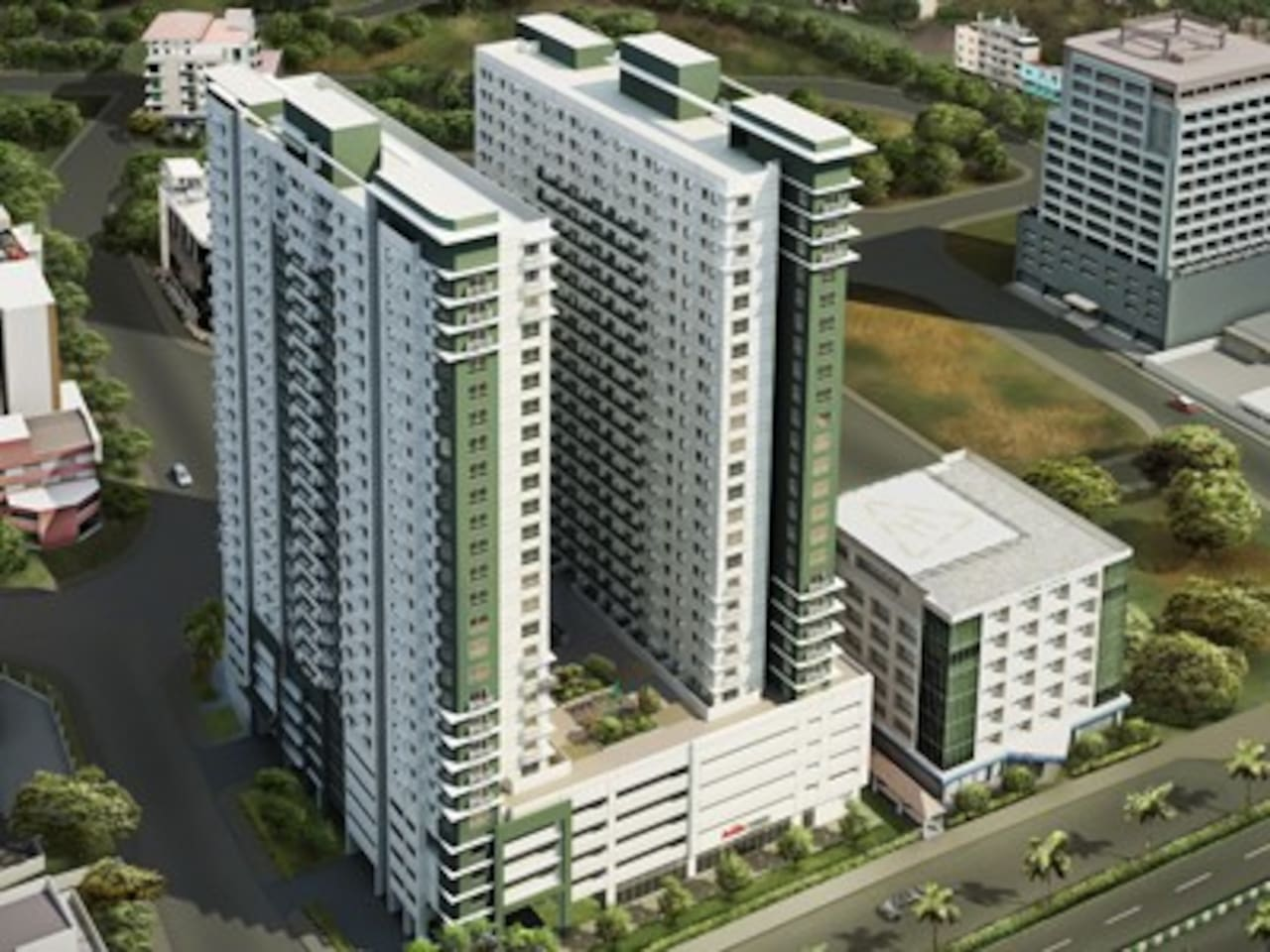 Avida Towers Alabang facade