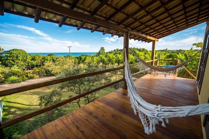 Casa Linda com terraço, Wifi e uma Vista Incrível!