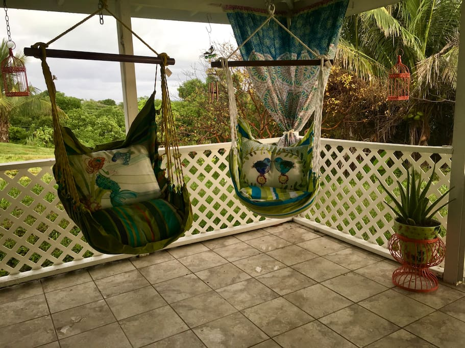 Hammock chairs to relax and dream