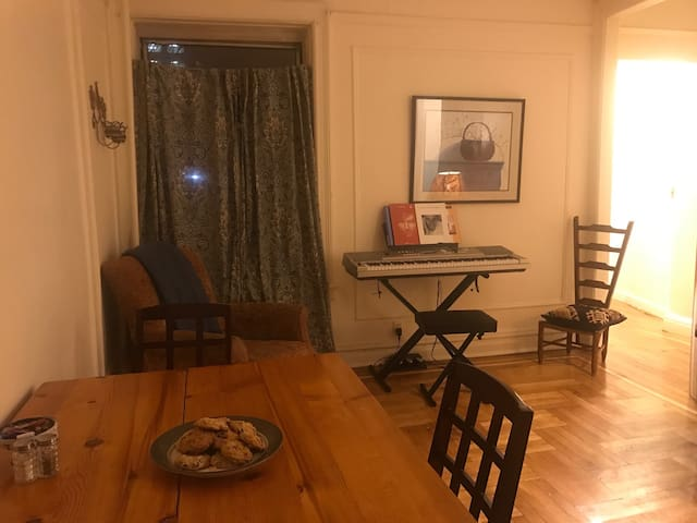 Cozy Bronx apartment next to 1 train and V.C.Park - Bronx - Apartamento