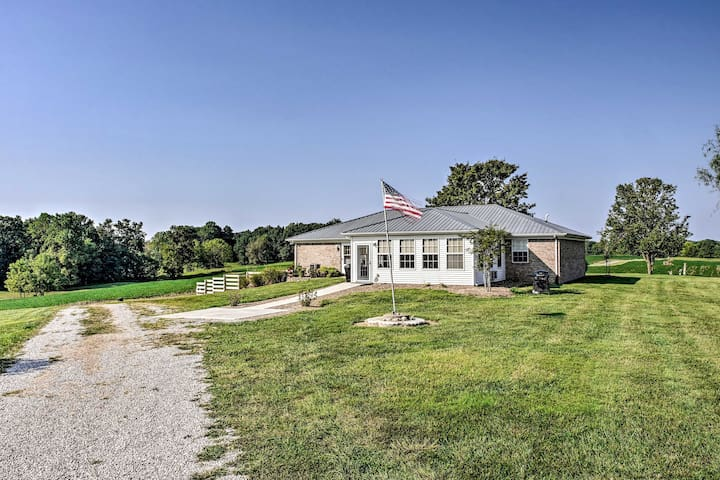 'My Ole KY Farm' - 130-Acre Scottsville Home!
