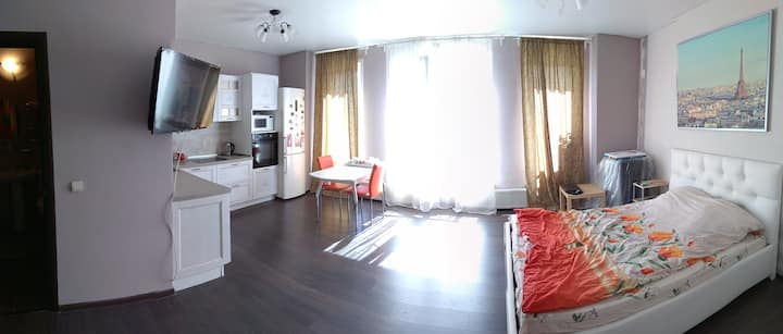 Studio apartment near the German team's base